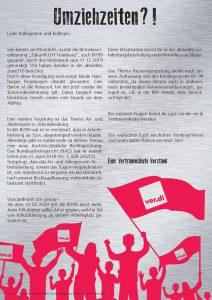 Info zur Kündigung der BV99